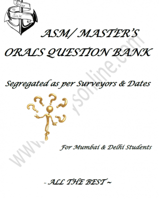 ASM ORALS QUESTION SET Mumbai & Delhi
