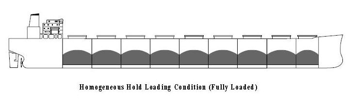 Bulk Carrier - Homogenous Hold Loading Condition