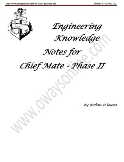 Engineering Knowledge Notes for Phase 2 by Rohan D'souza