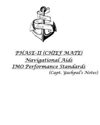 IMO Performance Standards of Navigational Aids Consolidated Notes
