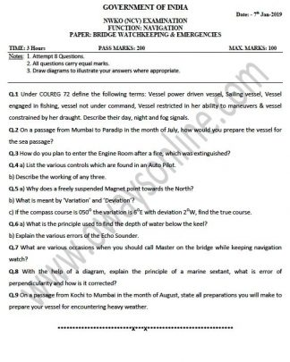 NCV (NWKO) MMD Past Question Papers