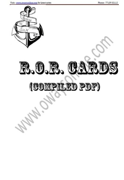 ROR Cards Download