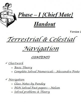 Navigation Consolidated Notes for Phase 1 Chief Mate